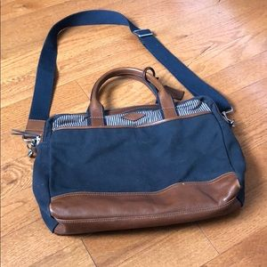 Fossil Leather Laptop Bag